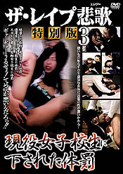 ザ・レイプ悲歌 特別版 3 現役女子校生に下された体罰