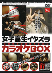 女子高生イタズラカラオケBOX