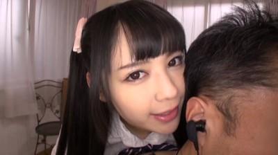女子校生のささやき淫語手コキ 2 1