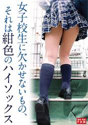 「女子校生に欠かせないもの、それは紺色のハイソックス」のパッケージ画像