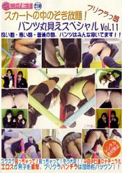 プリクラっ娘 スカートの中のぞき放題!パンツ丸見えスペシャル Vol.11