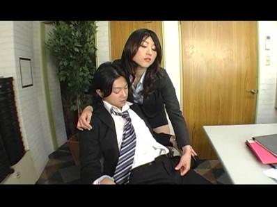 美人秘書 怒りのM男社員責め 4 百田栞 5