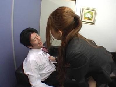 美人秘書 怒りのM男社員責め 5 成島りゅう 9