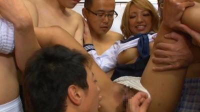 ロディオ・ギャルズ★ザーメン・パーティー in Tokyo 騎っかり腰ふり黒ギャルを真っ白に汚す素人汁 HIKARI 9