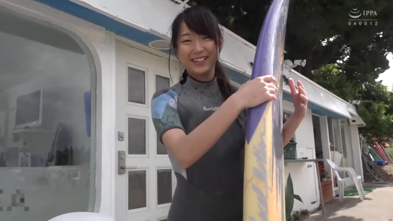 夏だ!海だ!サーフショップで働く超絶可愛い美少女がまさかのAV出演! 1