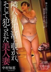 「隣人に私生活を覗かれ、そして犯された美人妻 中村知恵」のパッケージ画像