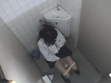 トイレ,オナニー,盗撮,女子高生