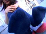 紺のソックス