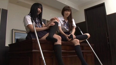 女子校生のハイソックス 10