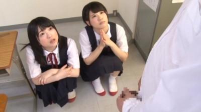 短小・包茎・射精 男性器に興味津々の少女達 保健体育の時間 3