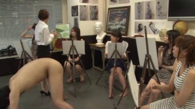 女子大美術部のヌードモデルになった男の悲劇 1