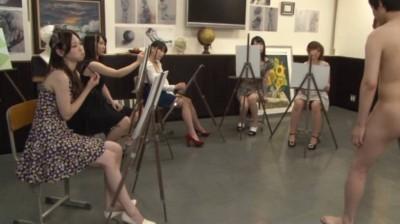 女子大美術部のヌードモデルになった男の悲劇 2