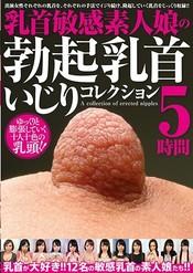乳首敏感素人娘の勃起乳首いじりコレクション 5時間