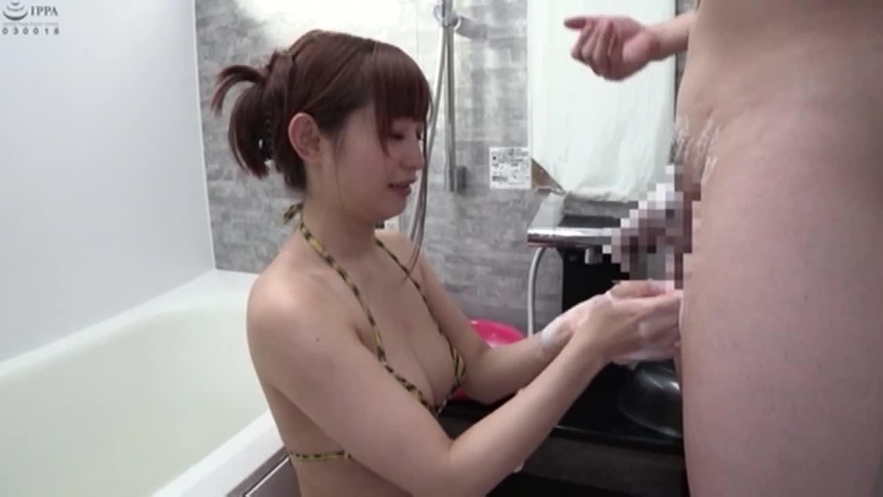素人娘 初めての「チ○ポ洗い」アルバイト4...thumbnai3