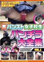 黒パンスト女子校生 パンチラ 大全集 Vol.4