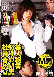 美人秘書 怒りの42男社員責め 2 西木美羽