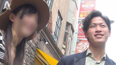 突撃カップル破局ナンパ!!-アンケートと偽ってカップルをホテルに連れ込みイケメンノンケ彼氏を騙し喰い-...thumbnai1