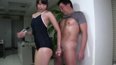 スクール水着×むちむち腿こきオイル...thumbnai9