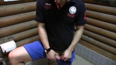 プレミアム第二弾・オラオラ系色黒兄貴の放尿〜野外オナニ...thumbnai7