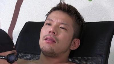 GOGOのヨウイチを凄絶ローターにフェラしごき!...thumbnai4
